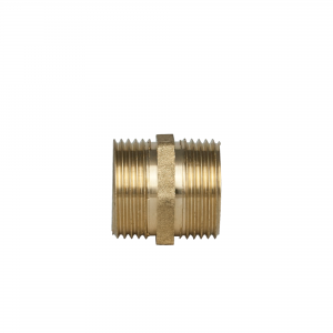 Fitting - connector (brass) 3/4 -3/4 inch